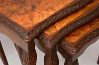 Antique Burr Walnut Nest of Tables (5 of 9)
