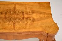 Queen Anne Style Burr Walnut Card Table c.1930 (7 of 11)