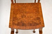 Antique Burr Walnut Oval Nest of Tables (7 of 8)