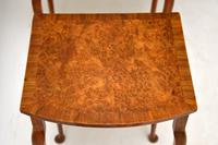 Antique Burr Walnut Oval Nest of Tables (6 of 8)