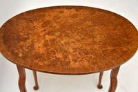 Antique Burr Walnut Oval Nest of Tables (5 of 8)