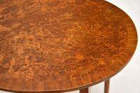 Antique Burr Walnut Oval Nest of Tables (8 of 8)