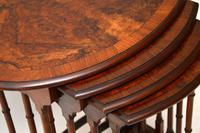 Antique Burr Walnut Nest of Four Tables (9 of 12)