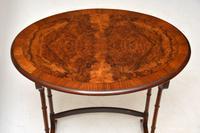 Antique Burr Walnut Nest of Four Tables (4 of 12)