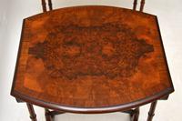 Antique Burr Walnut Nest of Four Tables (5 of 12)
