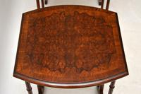 Antique Burr Walnut Nest of Four Tables (6 of 12)