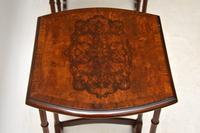 Antique Burr Walnut Nest of Four Tables (7 of 12)