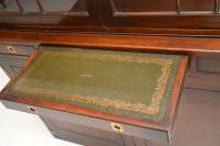 Pair of Antique Military Campaign Style Mahogany Bookcase (3 of 10)