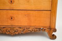 Antique Swedish Carved Oak Secretaire Chest (12 of 12)