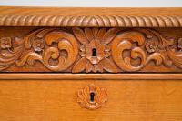 Antique Swedish Carved Oak Secretaire Chest (11 of 12)