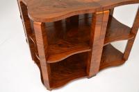 1920s Art Deco Walnut Nesting Coffee Table (2 of 10)