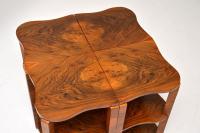 1920s Art Deco Walnut Nesting Coffee Table (7 of 10)
