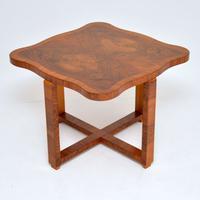 1920s Art Deco Walnut Nesting Coffee Table (5 of 10)
