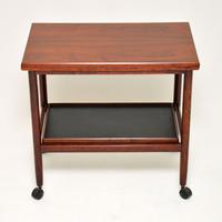 1960s Vintage Danish Rosewood Drinks Trolley (8 of 10)