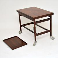 1960s Danish Rosewood Drinks Trolley by Kurt Ostervig (10 of 13)