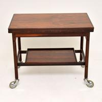 1960s Danish Rosewood Drinks Trolley by Kurt Ostervig (11 of 13)