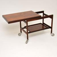 1960s Danish Rosewood Drinks Trolley by Kurt Ostervig (3 of 13)