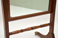 Antique Regency Mahogany Cheval Mirror (7 of 12)