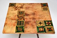 1960s Italian Lacquered Parchment Coffee Table by Aldo Tura (5 of 11)