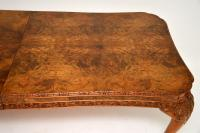 Antique Carved Walnut Queen Anne Dining Table & 8 Chairs (10 of 14)