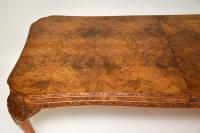 Antique Carved Walnut Queen Anne Dining Table & 8 Chairs (14 of 14)