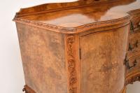 Antique Queen Anne Burr Walnut Sideboard (12 of 15)