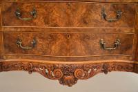 Antique Queen Anne Burr Walnut Sideboard (13 of 15)