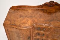 Antique Queen Anne Burr Walnut Sideboard (5 of 15)