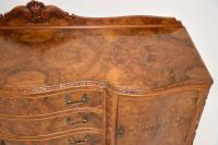 Antique Queen Anne Burr Walnut Sideboard (6 of 15)