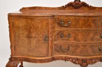 Antique Queen Anne Burr Walnut Sideboard (8 of 15)