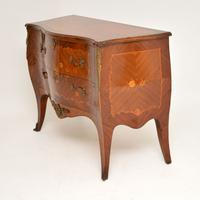 French Inlaid Marquetry Bombe Chest c.1930 (10 of 11)