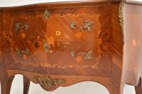 French Inlaid Marquetry Bombe Chest c.1930 (5 of 11)