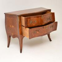 French Inlaid Marquetry Bombe Chest c.1930 (11 of 11)