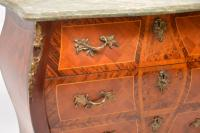 French Marble Top Bombe Chest c.1930 (4 of 10)