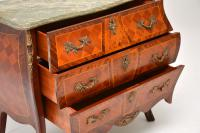 French Marble Top Bombe Chest c.1930 (7 of 10)