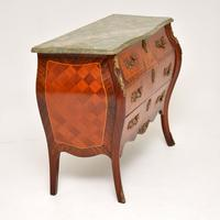 French Marble Top Bombe Chest c.1930 (9 of 10)