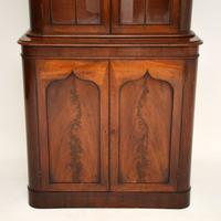 Antique William IV Mahogany Library Bookcase (4 of 9)