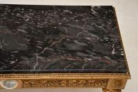 French Marble Top Gilt Coffee Table (11 of 11)