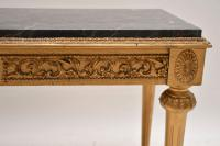 French Marble Top Gilt Coffee Table (5 of 11)