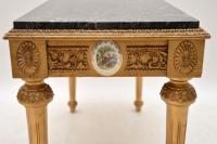 French Marble Top Gilt Coffee Table (8 of 11)
