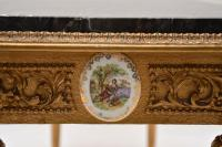 French Marble Top Gilt Coffee Table (9 of 11)