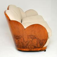 Art Deco Walnut Cloud Back Sofa by Epstein (4 of 12)