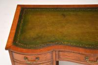 Burr Walnut Leather Top Desk c.1930 (5 of 10)
