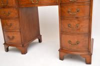Burr Walnut Leather Top Desk c.1930 (10 of 10)