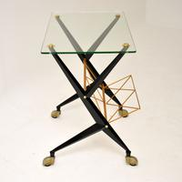 1960s Vintage Italian Side Table by Angelo Ostuni (3 of 13)