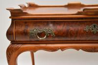 Antique Burr Walnut Tray Top Side Table (11 of 12)