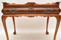 Antique Burr Walnut Tray Top Side Table (9 of 12)