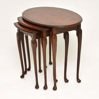 Antique Burr Walnut Nest of Tables (2 of 6)