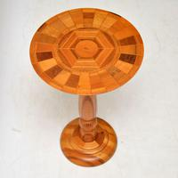 1960s Vintage Side Table in Various Inlaid Woods by Sovereign New Zealand (2 of 10)