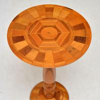 1960s Vintage Side Table in Various Inlaid Woods by Sovereign New Zealand (3 of 10)